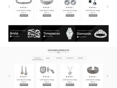 Online E-commerce Website