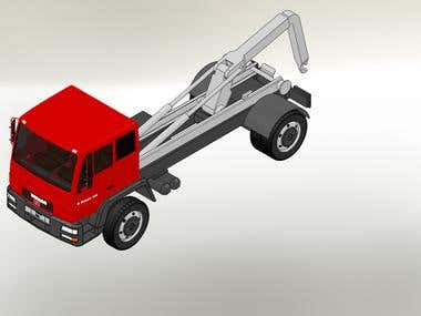 3D Model of liftingTruck