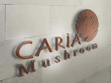 Logo Design - Caria Mushroom