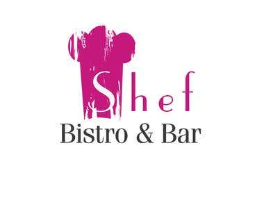 Logo Design - Shef Bistro &  Bar