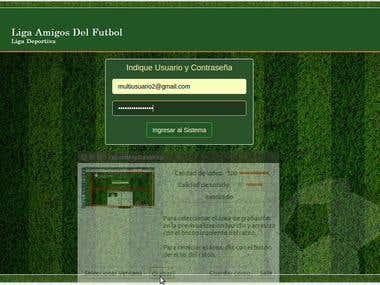 Sistema de Gestión de Liga Deportiva
