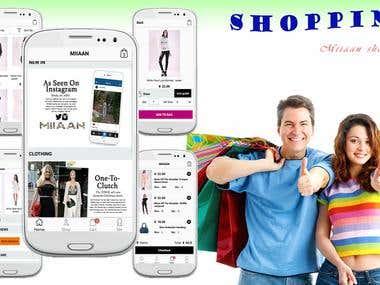 Miiaan shopping