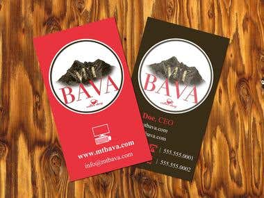 Mt. Bava Coffee Shop Brand