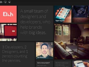 Website Design for ETCH