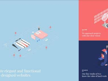 Website Design for WAAARK Studio