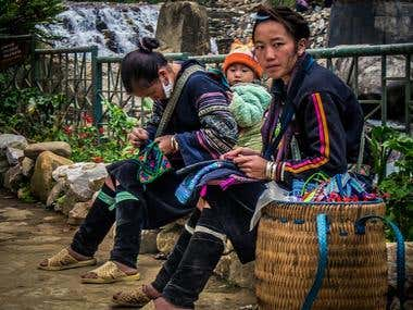 Travel Photography | Black Hmong Woman (SaPa, Vietnam)