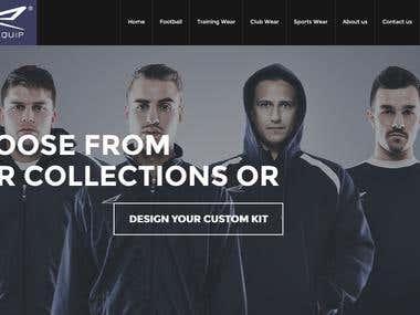 Website Design for Exoquip