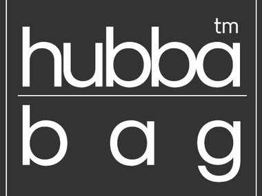 Logo and Flyer for Hubba Bag