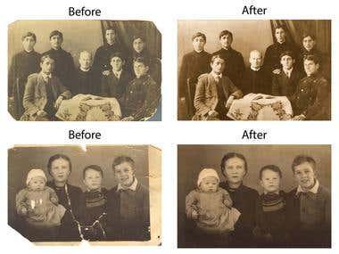 Repairing old images