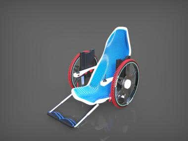 Electric Wheelchair for Electric Reverse trike (Original)