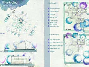 Architecture project/design (villa)