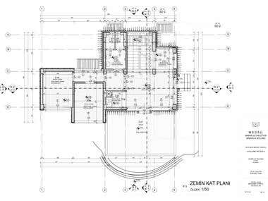 Beauty centre CAD drawings