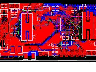 High density RF board
