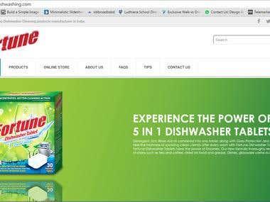 Fortune Dishwash Online Store