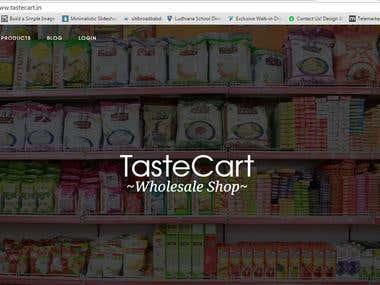 Taste Cart
