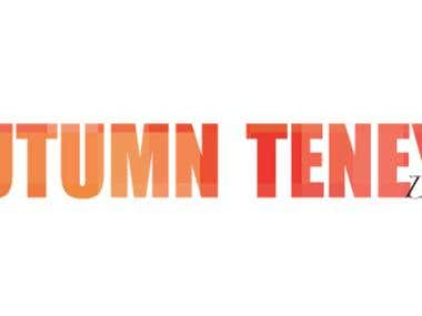Autumn Teneyl logo design