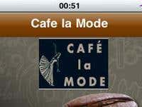 Cafe la mode iPhone app
