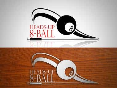logo for hands-up-8-ball win on contest