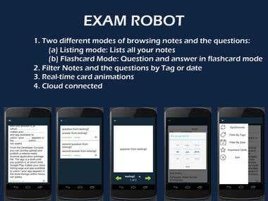 Exam Robot