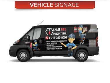 Vehicle Signage for ChaseFire