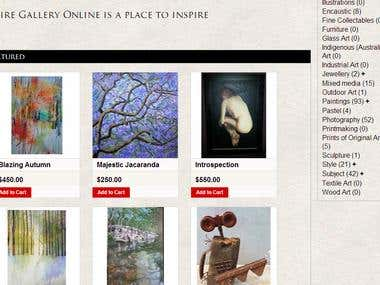 Online Art, Gallery and Workshop in Australia
