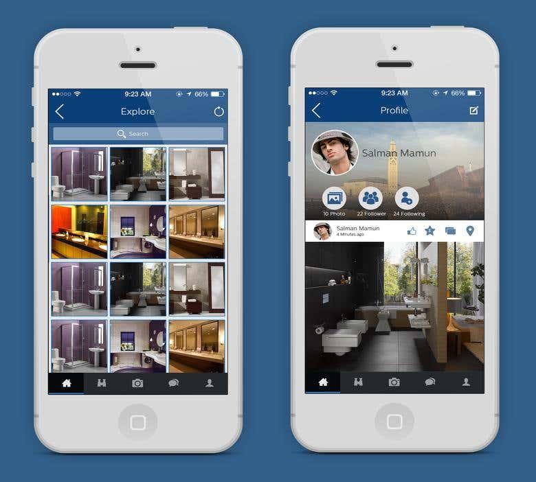 Instagram like photo sharing app | Freelancer