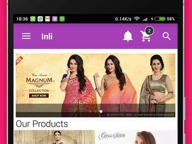 Inli Wholesale - Native Android App | Ecommerce