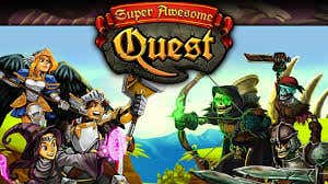 Super Awesome Quest Game Play testing