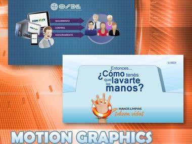 Motion Graphics - Institutionals videos