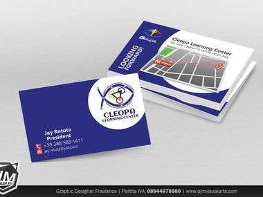 PJM Visual Arts' Calling Card Design