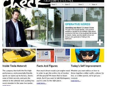 magazine site