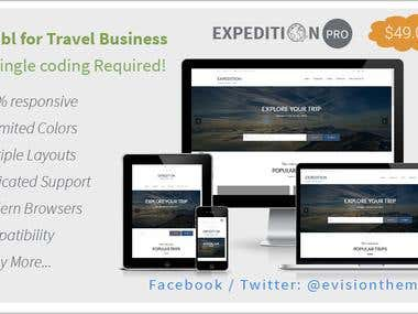 Expedition | A Best Travel WordPress Theme