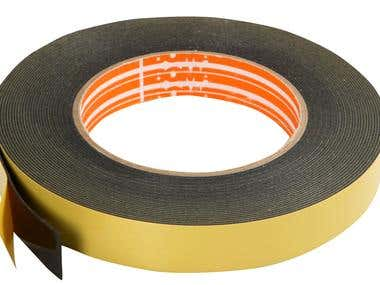 Looking for double-sided tape underwater's using