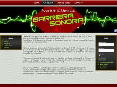 Berriera Sonora website