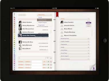 iPad GUI & UX