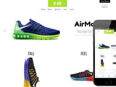 WooCommerce Shoe Store