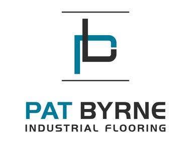 Pat Byrne logo (winning entry)