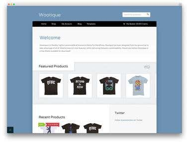E-commerce Themes Collection and Installation