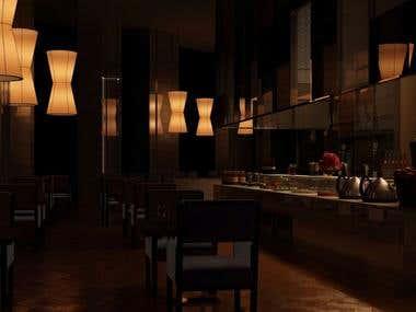 Authentic Restaurant Interior