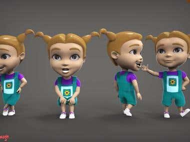 3d characters models