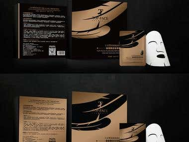 TOPFACE'S MASK PACKAGING
