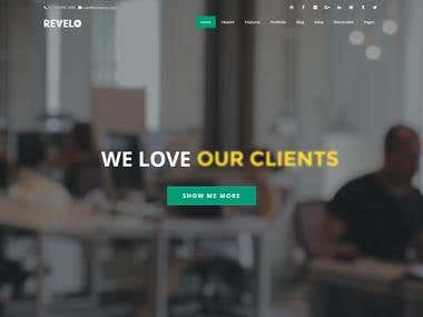 Revelo - Multipurpose HTML Template