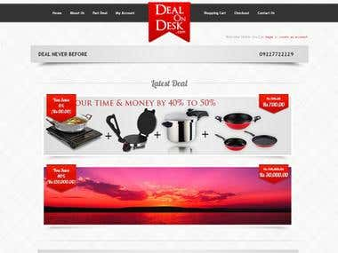 Deal on Desk Website Designed & Developed