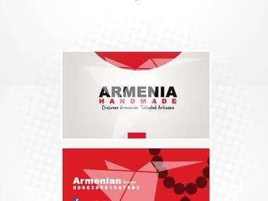 Armenia Handmade logo & cards