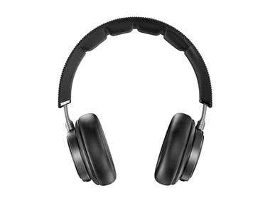 Headphones Rendering 3DS Max and Vray 3.20