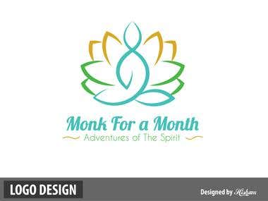 Monk for a month logo