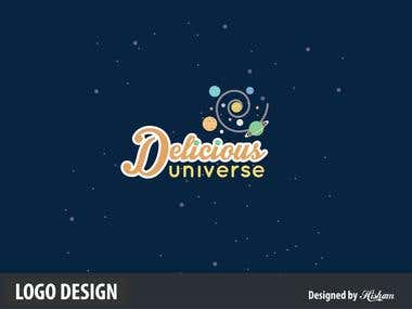 Delicious Universe Logo Design
