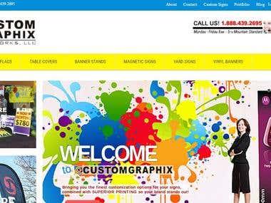 Web to Print service company - https://customgraphix.net/