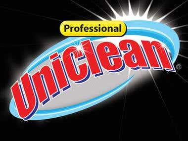 Logo design for Uniclean Products