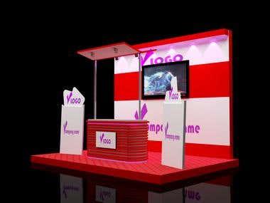 3D Kiosk Design